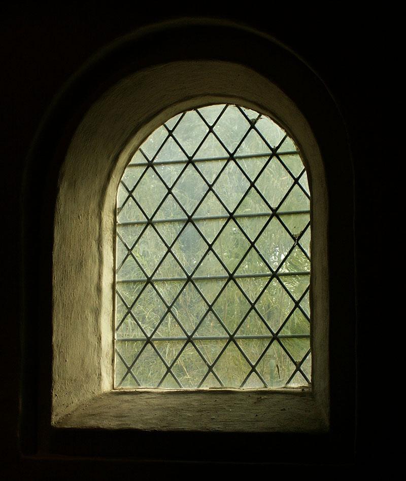Fensterverglasung damals