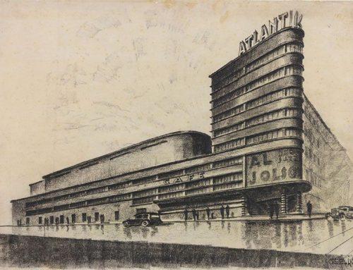 Aktuelle Ausstellung: Berliner Projekte. Architekturzeichnungen 1920–1990