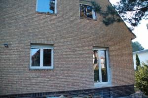Einfamilienhaus Balkontür