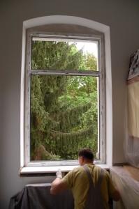 Fensterbau innen